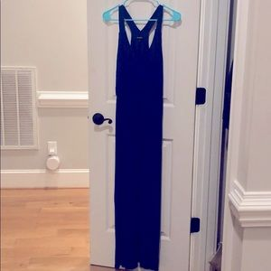 Express royal blue maxi dress